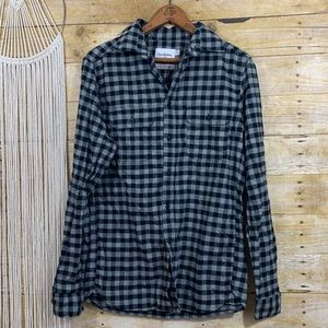 🍱Goodfellow Checkered Flannel